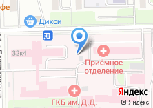 Компания «Городская клиническая больница №57» на карте