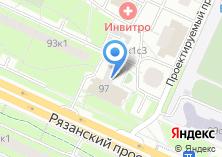 Компания «Почтовое отделение №109542» на карте