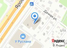 Компания «Ювас» на карте