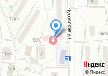 Компания «Городская поликлиника №87» на карте