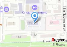 Компания «Средняя общеобразовательная школа №440» на карте