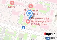 Компания «Больница им. Е.О. Мухина» на карте