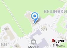 Компания «МосГУ» на карте