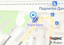 Компания «Банк Хоум Кредит» на карте