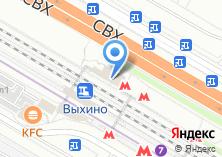 Компания «Выхино» на карте