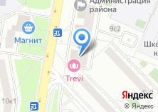 Компания «Фарнель» на карте