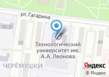 Компания «Финансово-технологическая академия» на карте