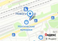 Компания «Роза» на карте
