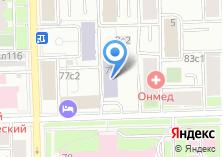 Компания «МЭФИ» на карте