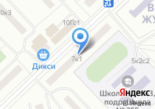 Компания «ОДС Инженерная служба» на карте