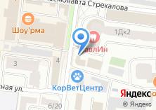 Компания «Мособлбанк» на карте