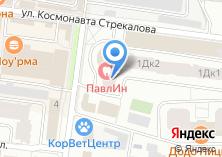 Компания «Школа-студия Владимира Комарова» на карте