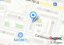 Компания «ОПОП Восточного административного округа район Новогиреево» на карте