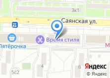 Компания «Мастерская по ремонту одежды на Саянской» на карте
