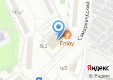 Компания «Магазин бижутерии на Самаркандском бульваре» на карте