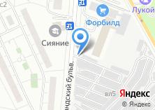 Компания «Шиномонтаж на Самарканском бульваре» на карте