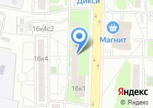 Компания «Почтовое отделение №111558» на карте