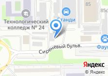 Компания «Медрост» на карте