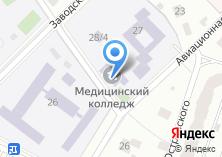 Компания «Пушкинский медицинский колледж» на карте