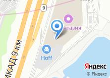 Компания «Экомебель» на карте