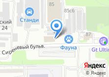 Компания «Евродеталь» на карте