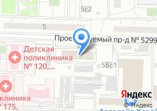 Компания «Район по эксплуатации водопроводной сети №3 производственное управление Мосводопровод» на карте
