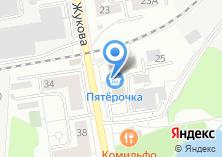 Компания «Строящееся административное здание по ул. Академика Жукова (г. Дзержинский)» на карте