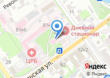 Компания «Старооскольская центральная районная больница» на карте
