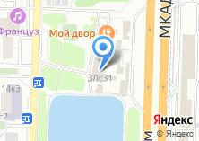 Компания «Мой двор» на карте