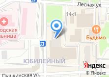 Компания «Еврохимчистка в Королёве» на карте