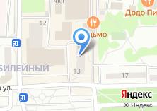 Компания «Юрофарт» на карте