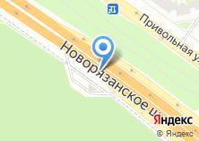 Компания «Хрусталь Маркет» на карте