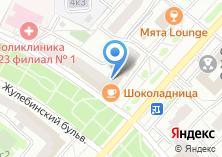 Компания «Молочный домик» на карте