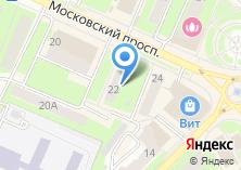 Компания «Пушкинское центральное агентство недвижимости» на карте