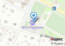 Компания «Пушкино» на карте
