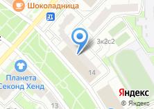 Компания «Smartline» на карте