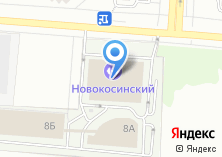 Компания «Новокосинский» на карте