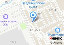 Компания «Владимирский Тракт» на карте