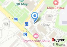 Компания «Маяк-1» на карте