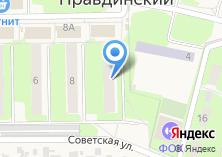 Компания «Почтовое отделение №141260» на карте