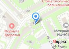 Компания «Российский центр защиты леса» на карте