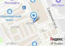 Компания «Магазин дверей» на карте