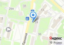 Компания «Магазин печатной продукции на ул. Ленина» на карте