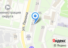 Компания «Почтовое отделение №143966» на карте