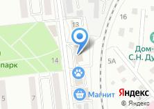 Компания «Окна профи» на карте