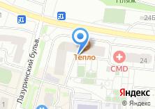 Компания «Строящийся жилой дом по ул. Угрешская (г. Дзержинский)» на карте