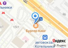 Компания «Сто дверей» на карте