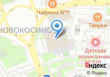Компания «Мастерская по ремонту часов на Новокосинской» на карте
