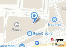Компания «Луидор» на карте
