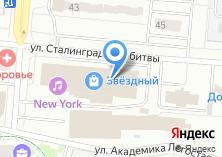 Компания «Звездный» на карте